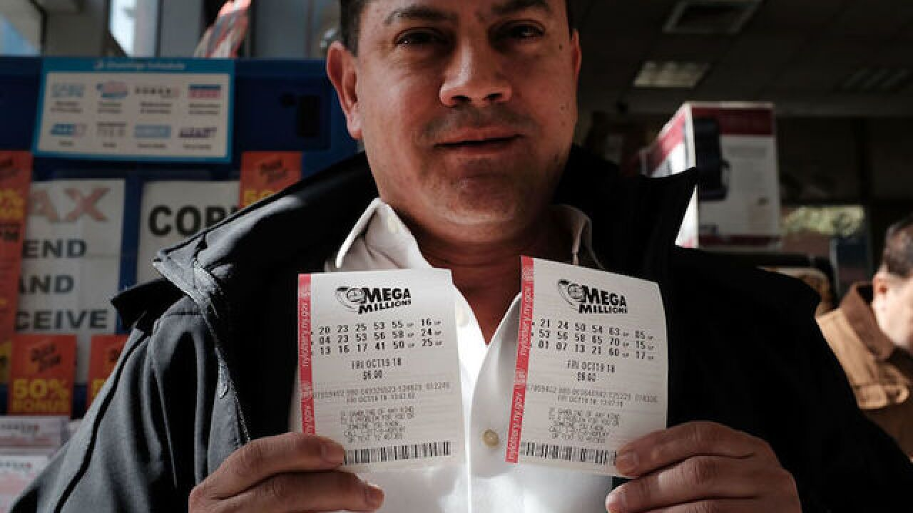 If Mega Millions doesn't have winner today, next one-time cash option will be more than $1 billion