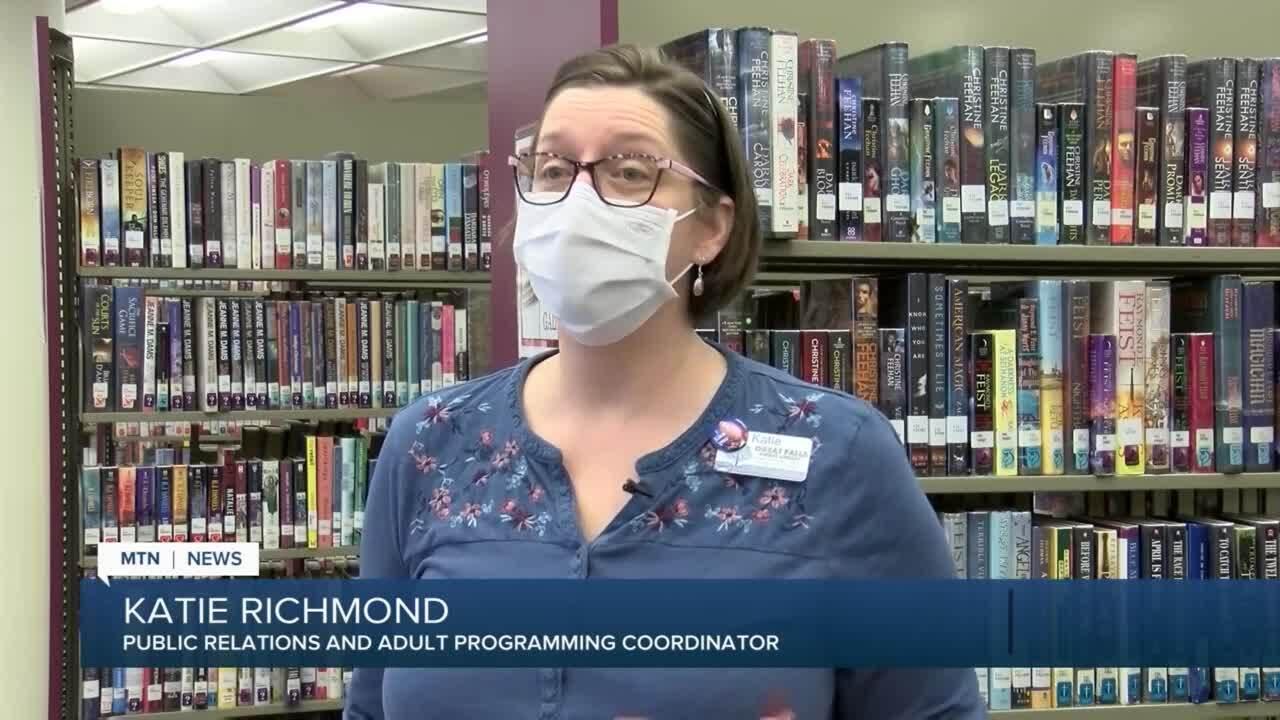 Katie Richmond, Great Falls Public Library