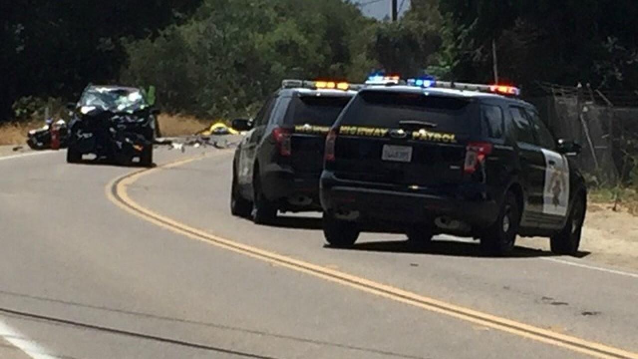Fatal motorcycle crash closes road in San Marcos