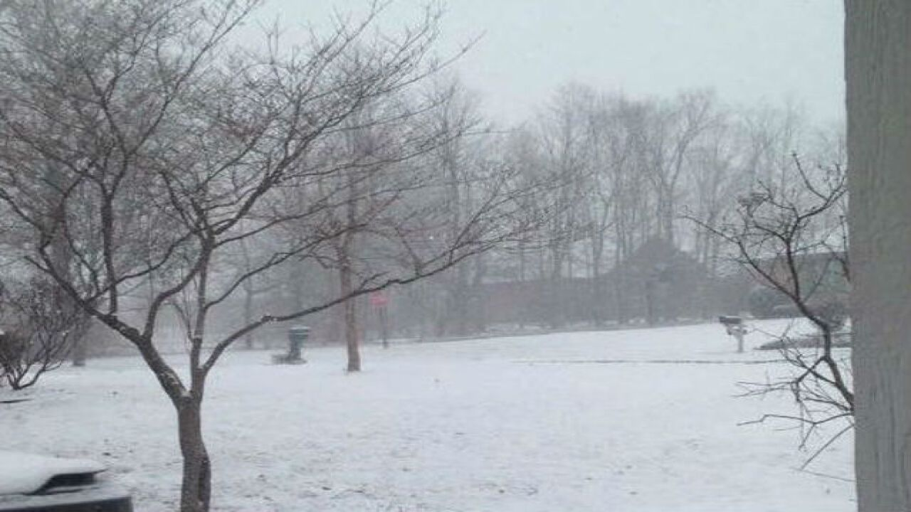 PHOTOS: Valentine's Day snow