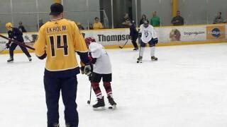 Mattias Ekholm Hosts 2nd Hockey Clinic For Make-A-Wish