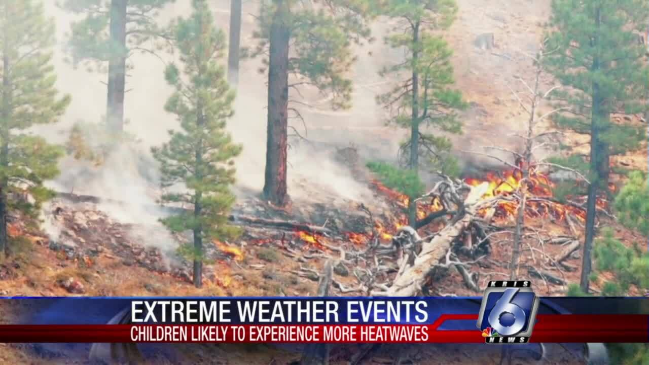 Today's kids will face more extreme weather events