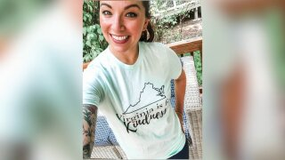 Virginia Is for Kindness t-shirts raise thousands for food banks