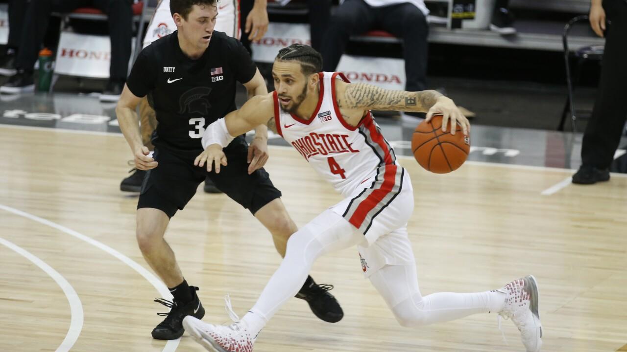 Duane Washington Michigan St Ohio St Basketball