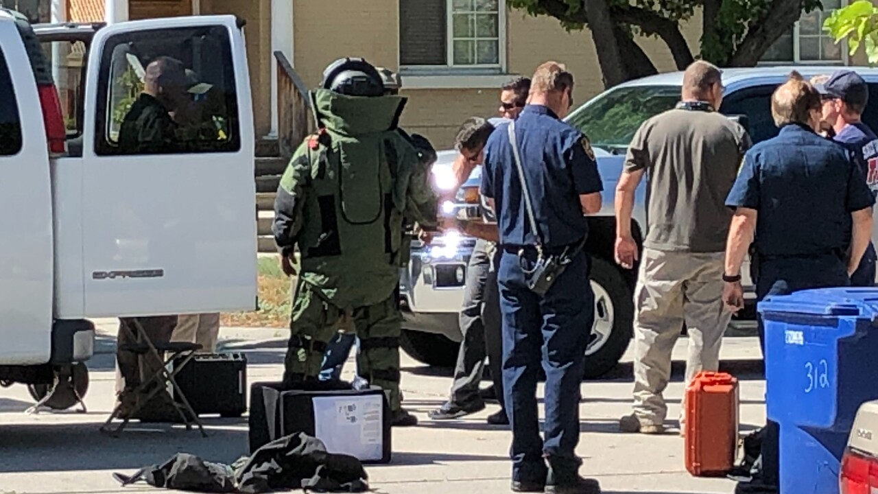 Road reopens after suspicious package found near ACLU in Salt Lake City