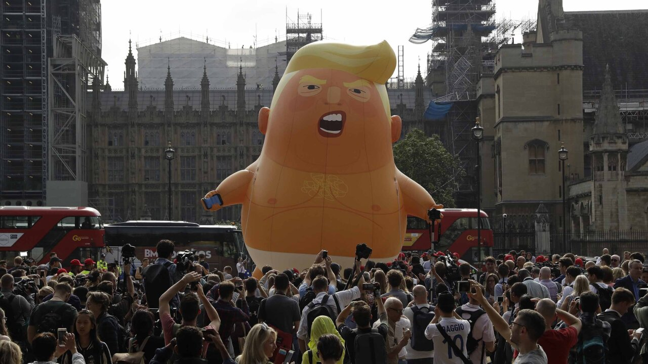 'Baby Trump' balloons are coming to New Jersey after flying in the United Kingdom