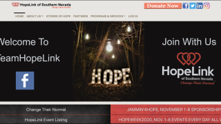 hopelink home page