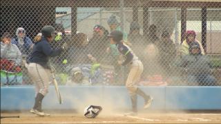 Carroll College, University of Providence split softball doubleheader