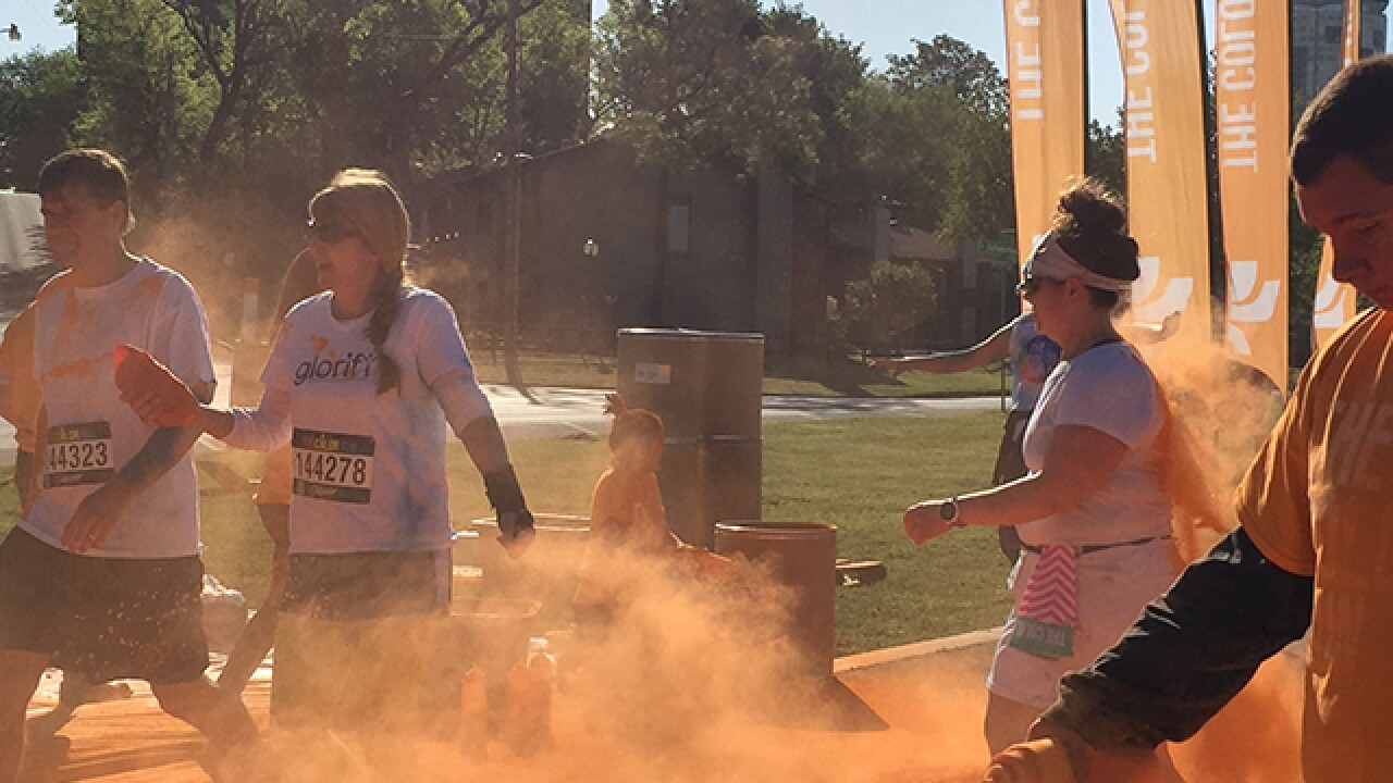 PHOTOS: Tulsa's 2016 Color Run