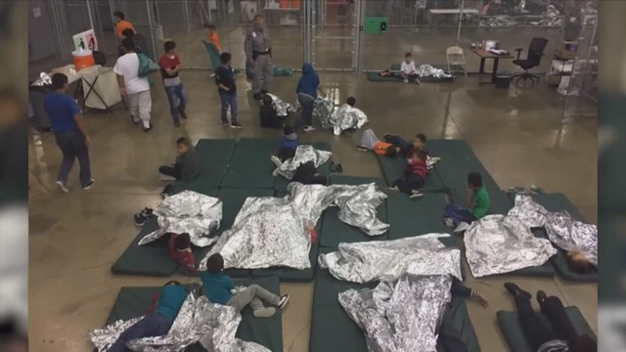 "Immigration claim ""There are no lost children,"""