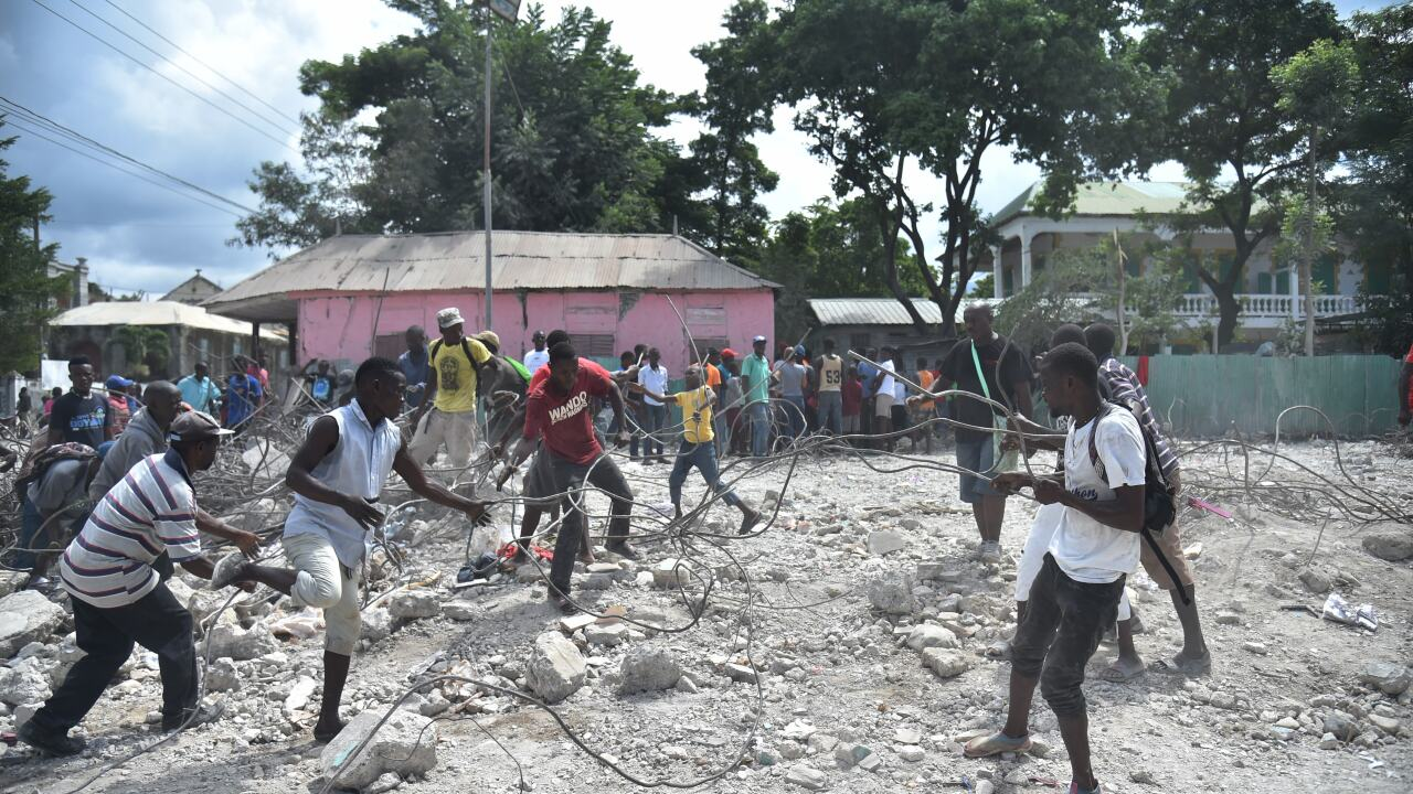 Another deadly earthquake in Haiti kills least 12 people
