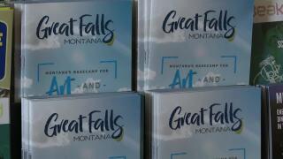 Great Falls tourism brochures