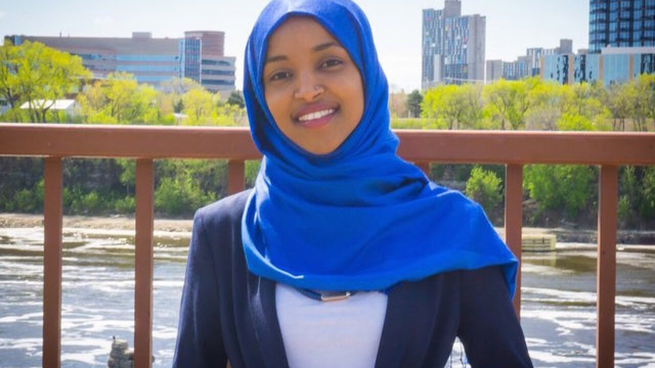 Rashida Tlaib and Ilhan Omar are the first Muslim women in Congress