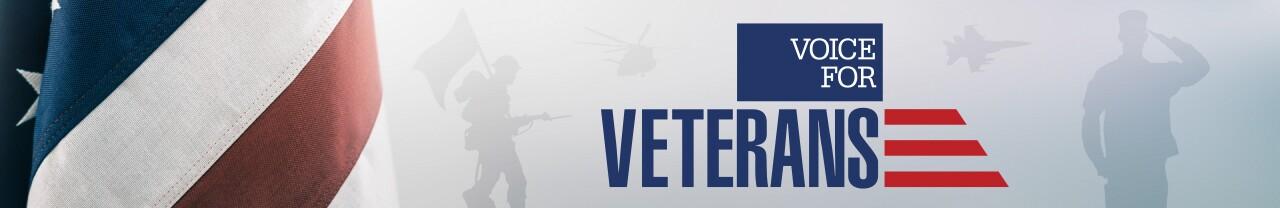 Voice for Veterans web banner
