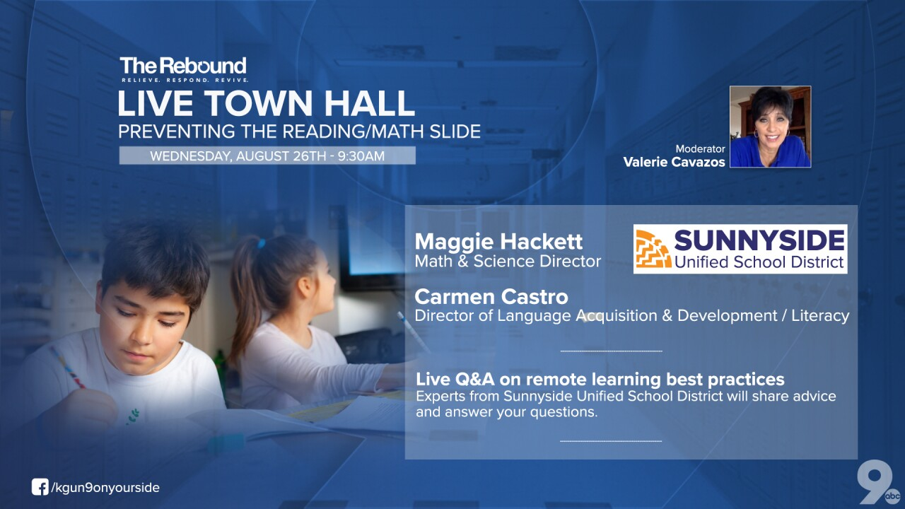 LIVE TOWN HALL: Preventing the reading/math slide