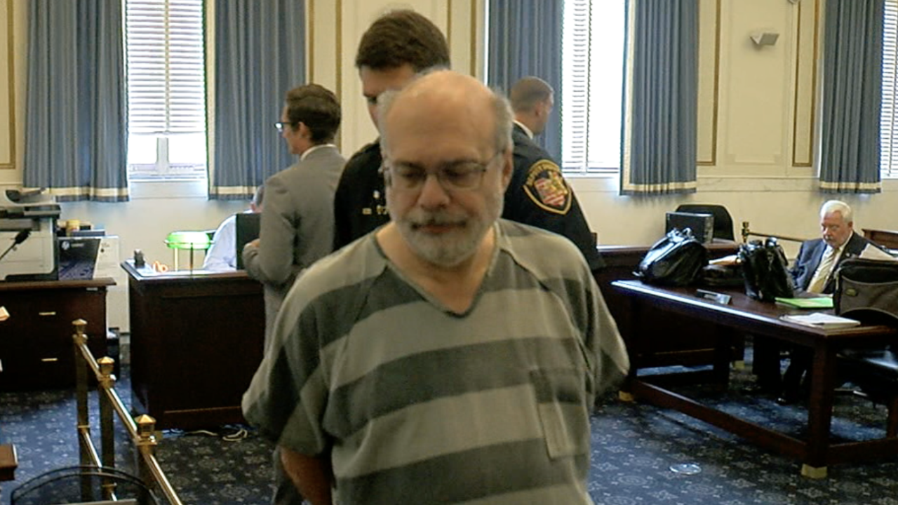 Rev. Geoff Drew in court August 21, 2019
