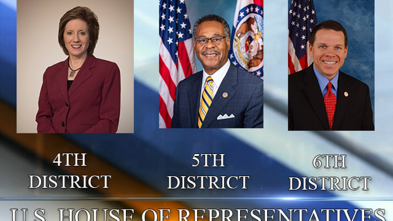 Cleaver, Hartzler, Graves win re-election bids