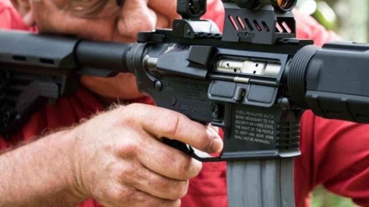 GOP congressional candidate defends AR-15 giveaway