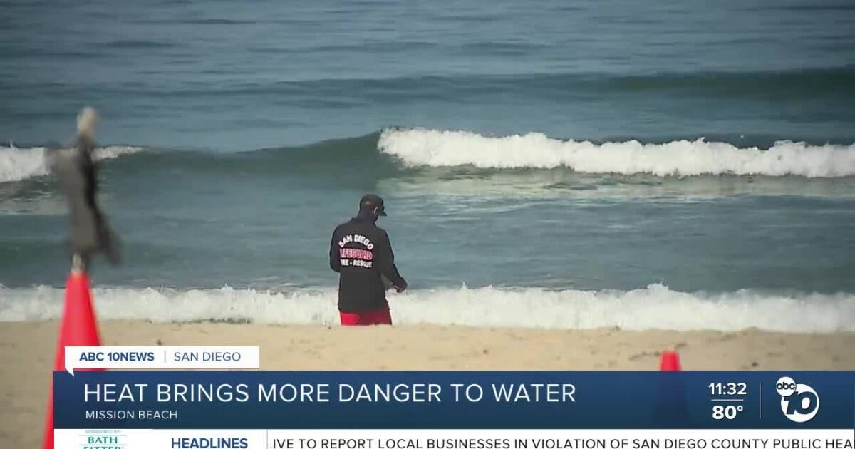 Lifeguards Say Heat Brings Extra Dangers To San Diego Beaches This Weekend