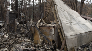 Frontline workers get unexpected surprise after wildfires destroyed their home
