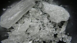 Omaha man sentenced for possession of meth