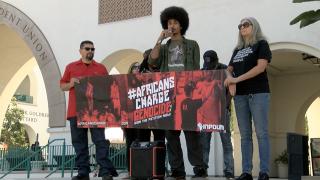 Protestors use anti-Semitic tropes during SDSU rally
