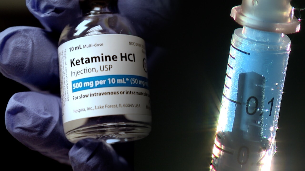Ketamine vial at an Englewood Infusion Clinic