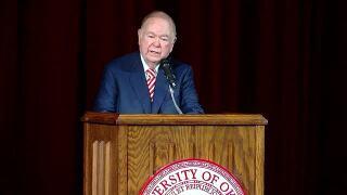 OU President David L. Boren to make announcement