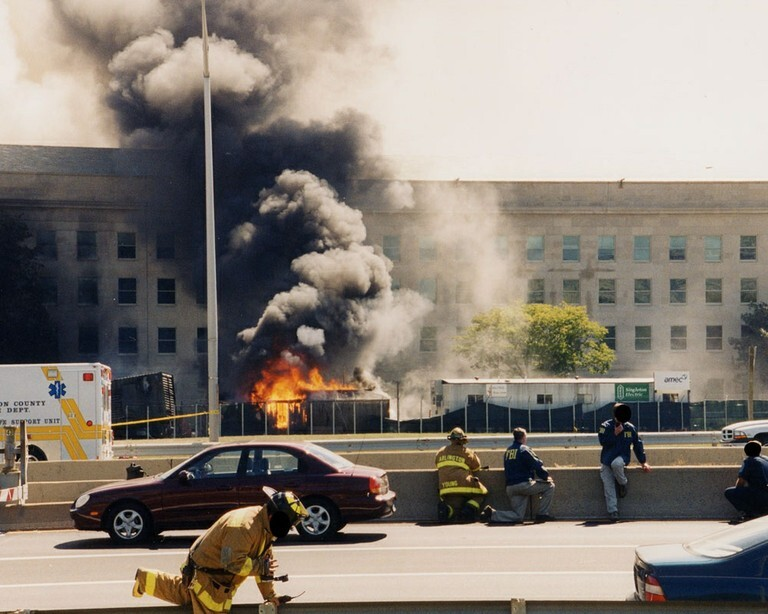 FBI Releases 9/11 photos At The Pentagon