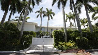 Jeffrey Epstein's Palm Beach mansion circa July 2019