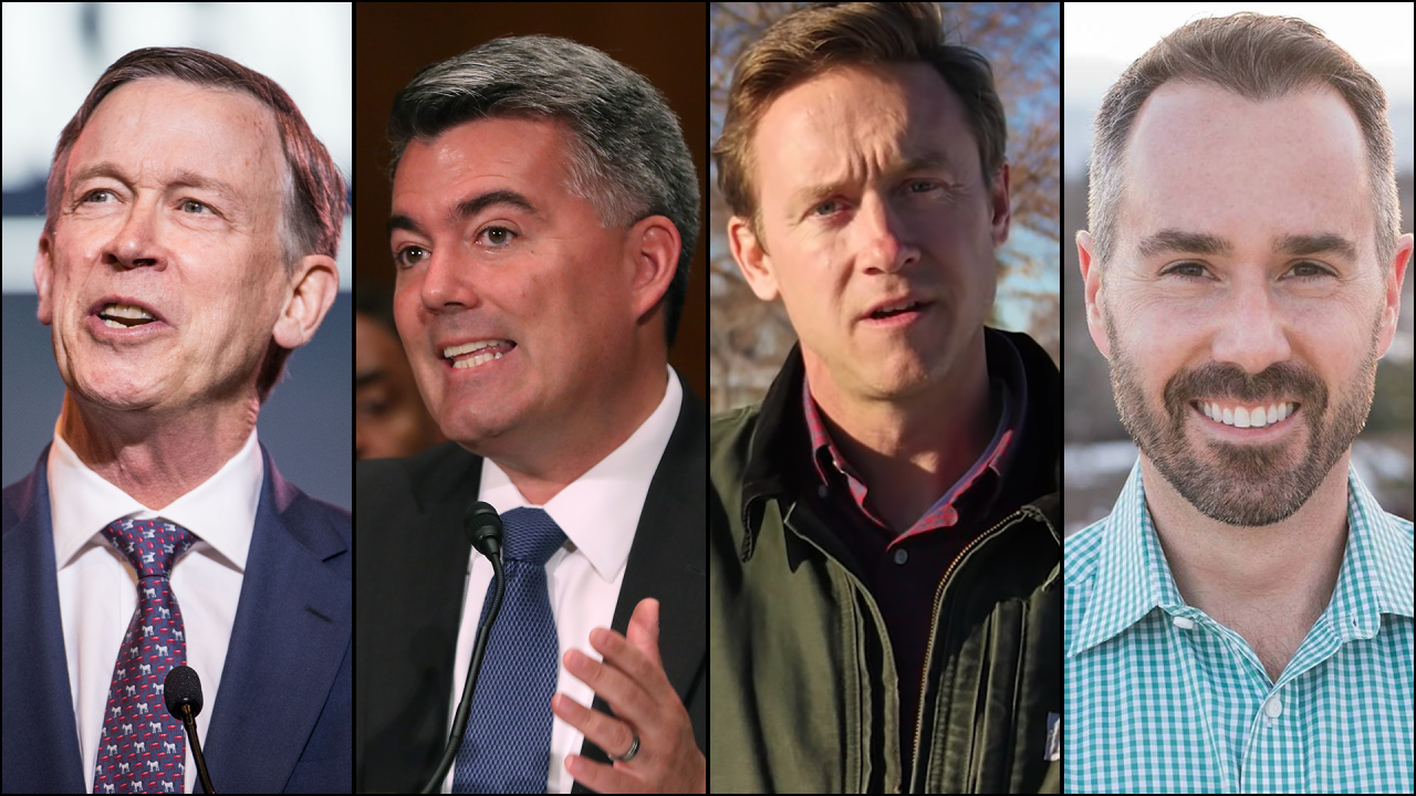 Gardner campaign, Democratic opponents weigh in on Hickenlooper entering Colorado's 2020 Senate race
