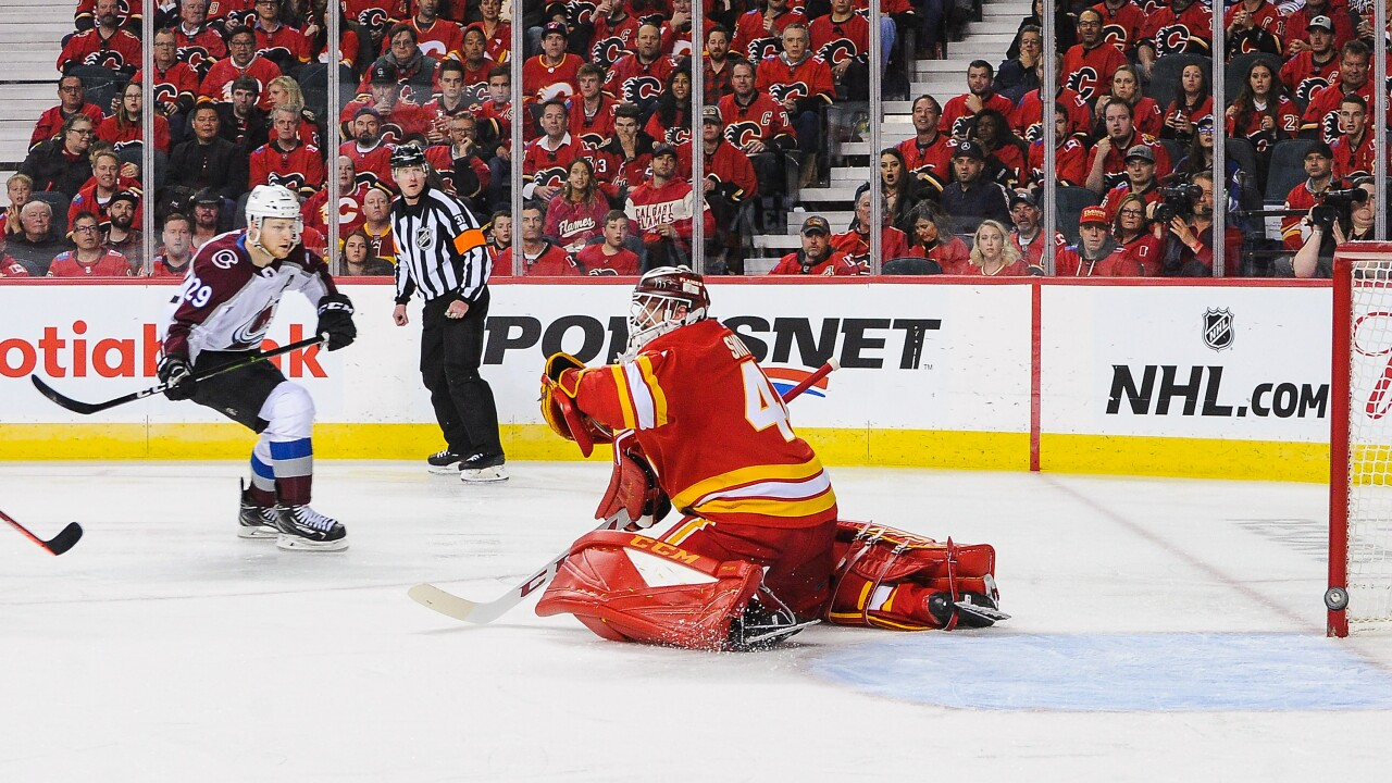Colorado Avalanche v Calgary Flames - Game Two
