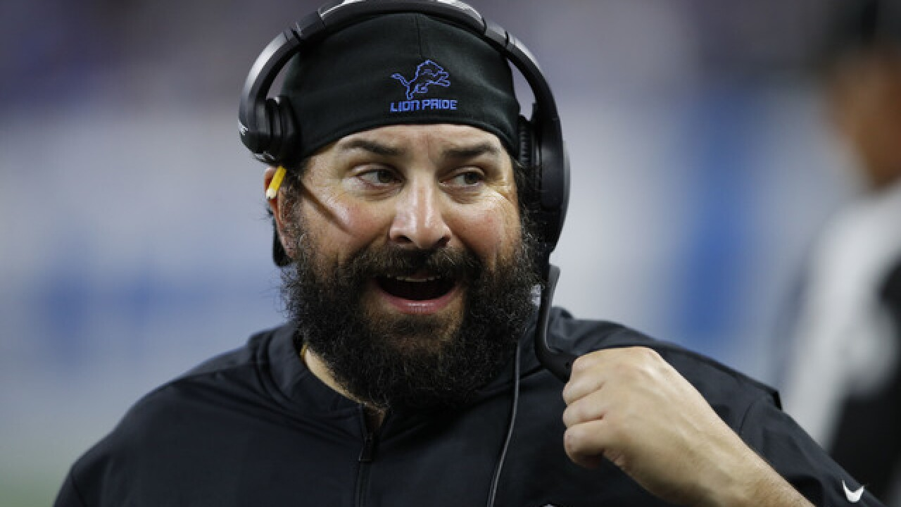 Matt Patricia, Lions looking to clean up after opening-game mess