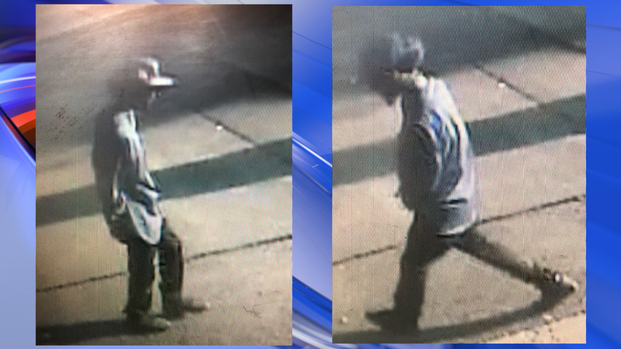 Suffolk Police search for convenience store armed robbery suspect