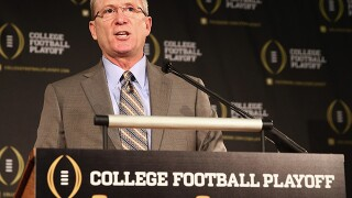 Jayhawks hire former CFP chair Jeff Long as AD