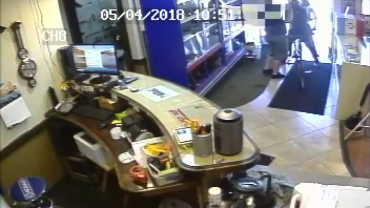 Police release video of fatal shooting during robbery at Bountiful Pawn