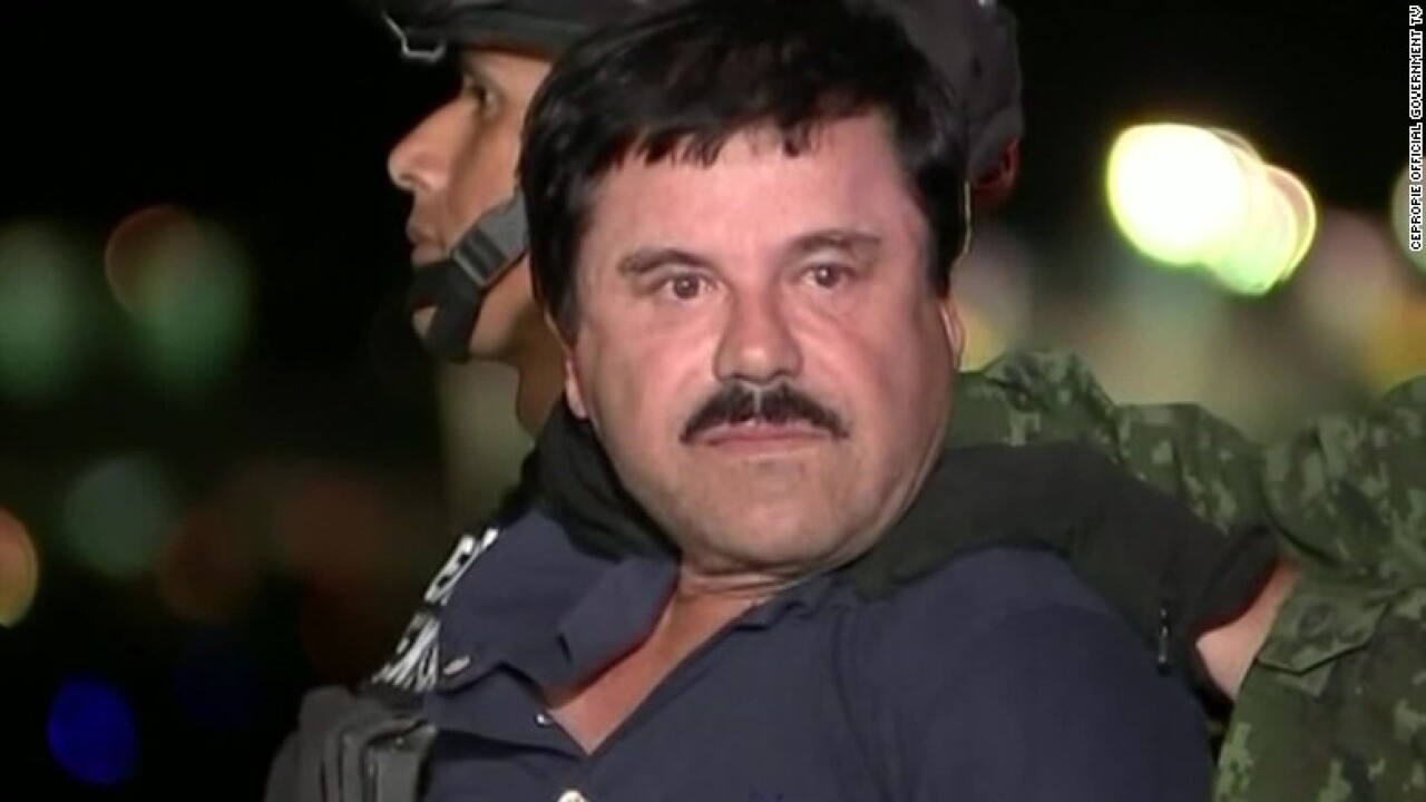 Son of Mexican drug lord 'El Chapo' Guzman at center of shootout