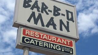 Bar-B-Q  Man has been serving delectable food for 43 years