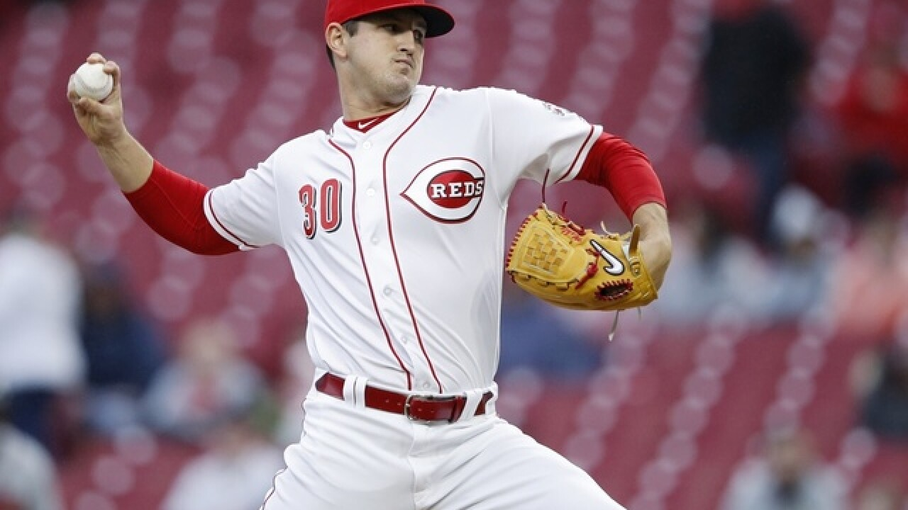 Mahle loses no-hitter in 7th, Reds beat Braves 9-7 in 12