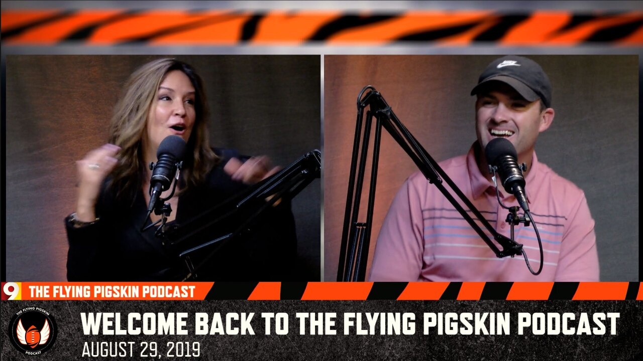 Flying Pigskin with Zac Taylor