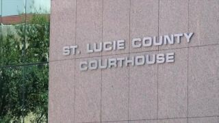 St. Lucie County Courthouse sign