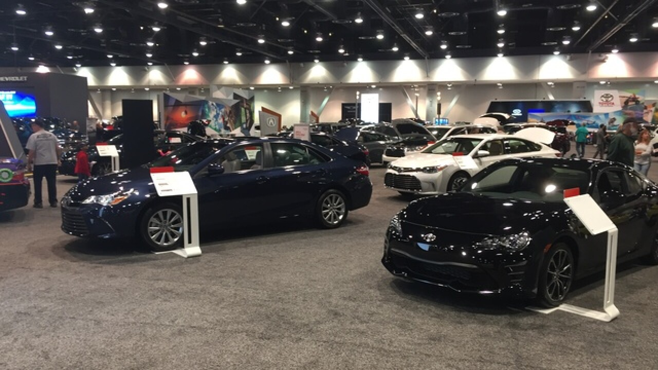 Motor Trend auto show cruises into Las Vegas