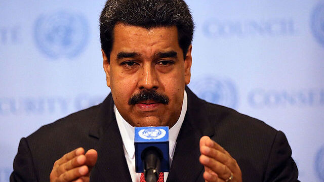 Venezuela's president says attack on its Supreme Court is an act of terror