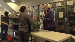 Food banks seeing surge from people in need during coronavirus outbreak