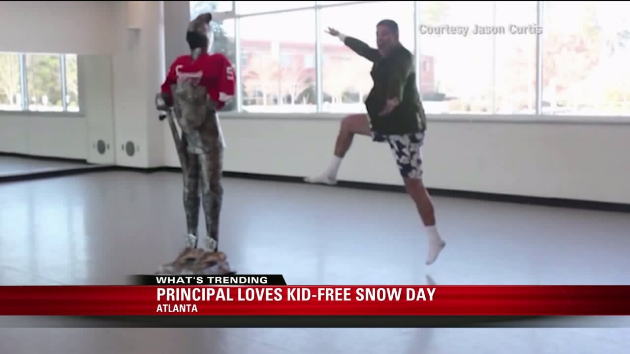 Principals love snow days just as much as kids