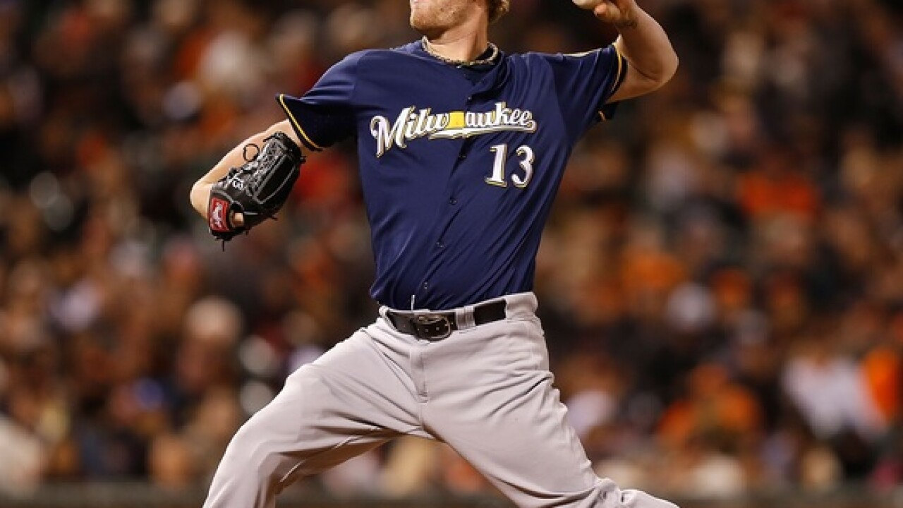 Milwaukee Brewers trade reliever Will Smith to the San Francisco Giants