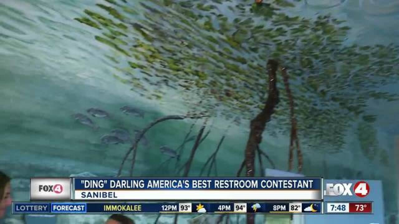 """Ding"" Darling finalist in best bathroom contest"