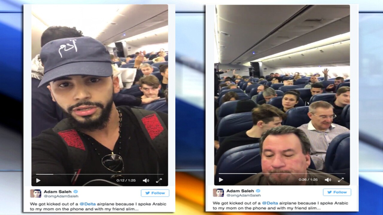 Delta kicks Arab man and YouTube personality from plane after complaints from passengers