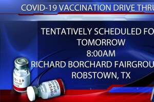 COVID-19 Drive-thru vaccine clinic set for Tuesday