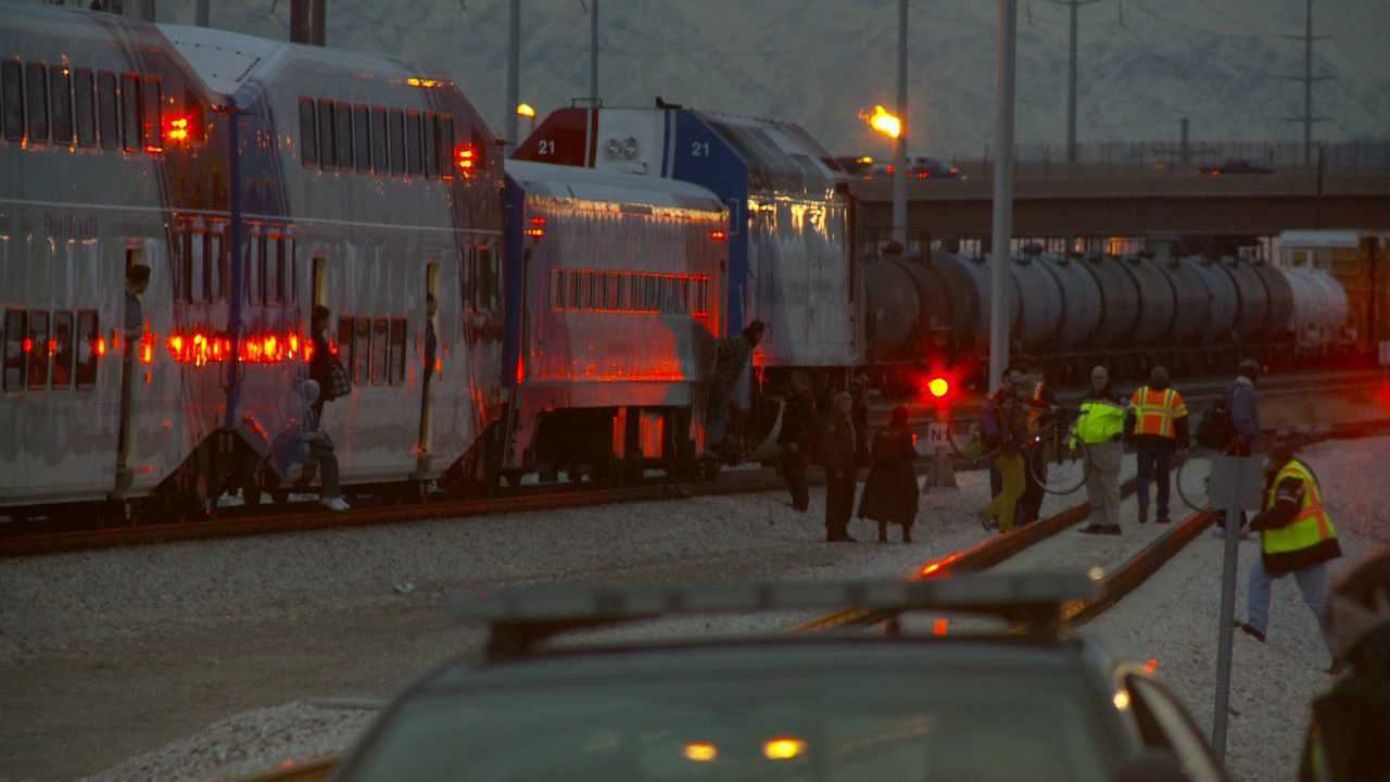 Passengers stuck on UTA train for hours after crash say they had no water, restrooms